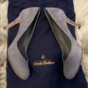 Brooks Brothers vintage leather heels